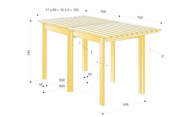 klapptisch. Black Bedroom Furniture Sets. Home Design Ideas