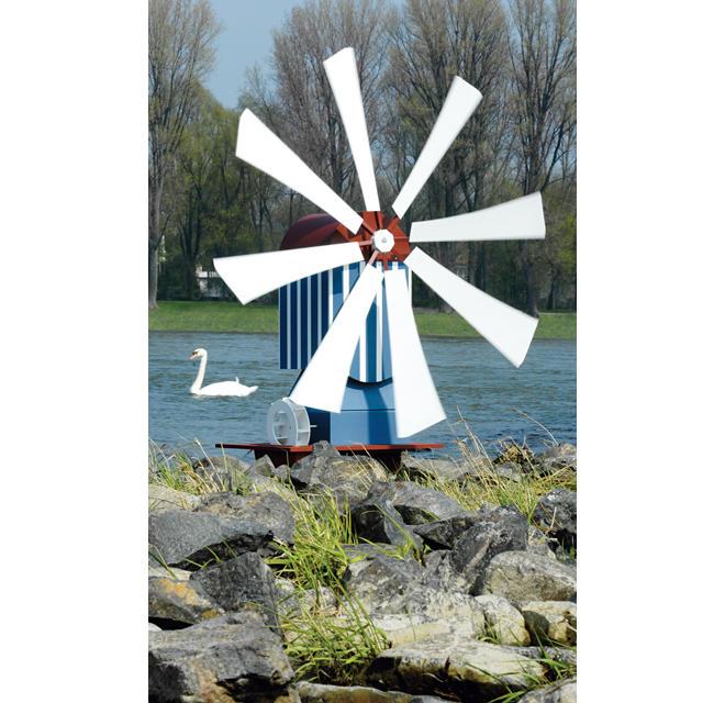 Bauanleitung: Windmühle bauen
