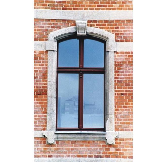 Berliner Fenster mit Oberlicht