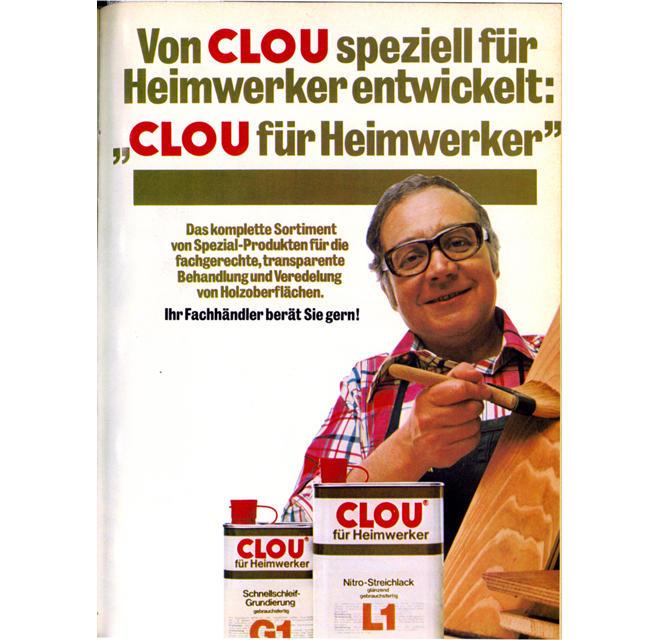 Clou-Anzeigenmotiv