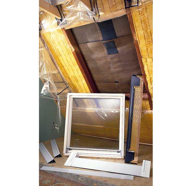 Dachfenster Einbauen: Schritt 1 Von 15