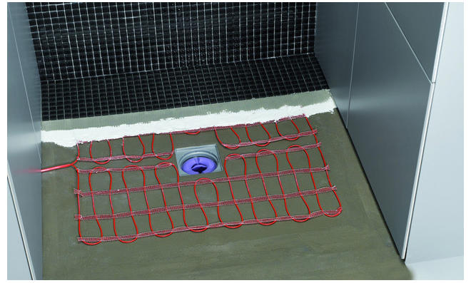 Elektrische Fußbodenheizung: Heizmattensystem
