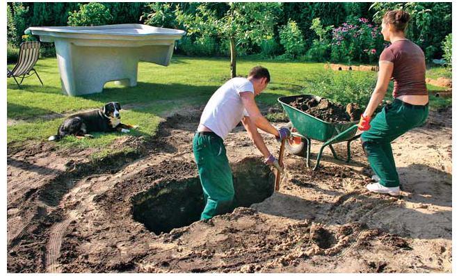 Teichschale for Gartenteich anlegen fertigteich