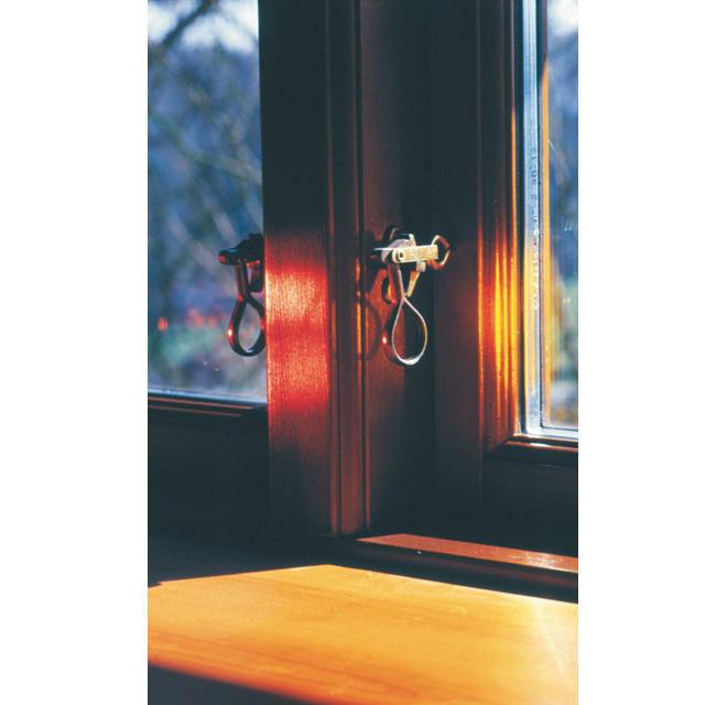 Verschluss dänischer Fenster