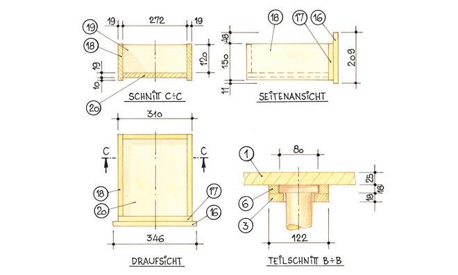 Klappbarer tisch selber bauen  Klappbarer Tisch Selber Bauen. Affordable Zum Selber Bauen With ...