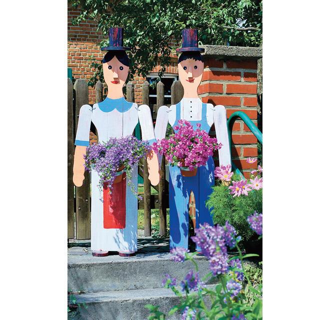 Gartendeko Figuren Selbst De
