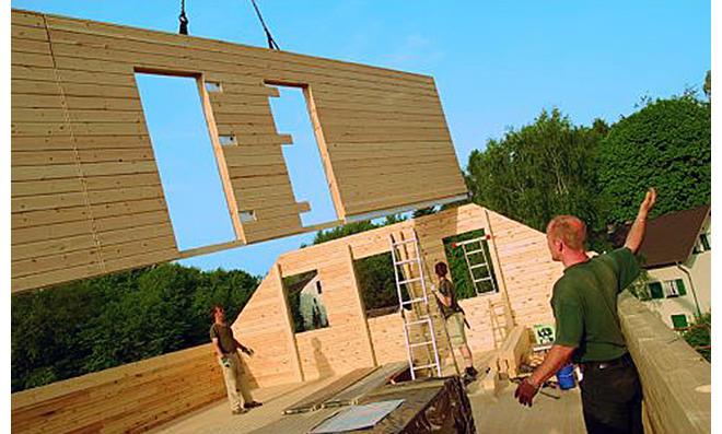 Beautiful Holzhaus Selbst Bauen Contemporary - Thehammondreport.com ...
