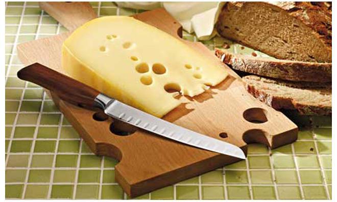 Käseplatte aus Holz bauen