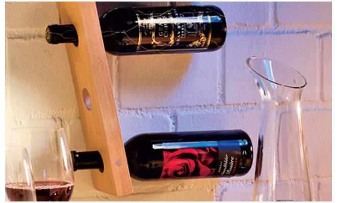 Flaschenregal bauen | selbst.de