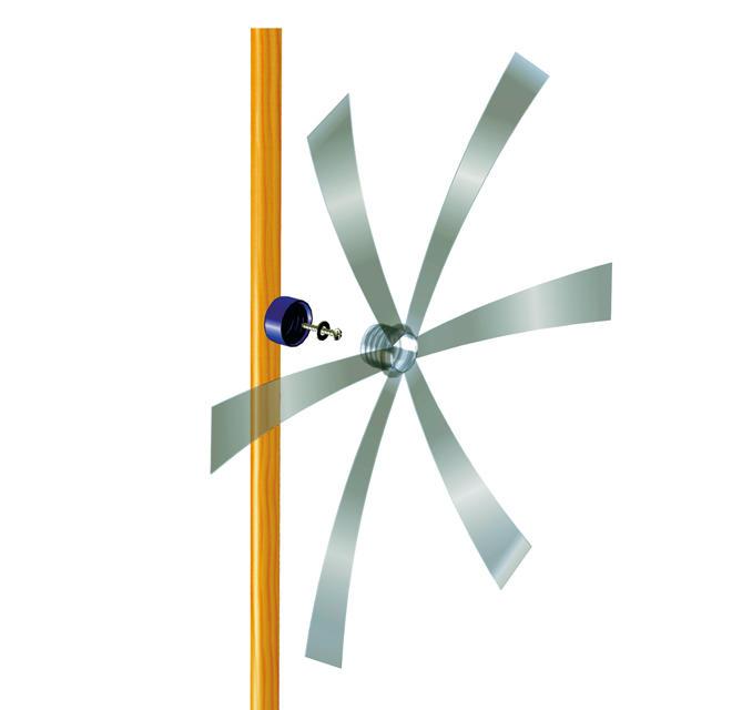 Windmühle aus PET