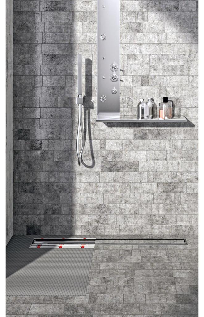 Extrem Dusche: Ablaufrinne | selbst.de JI31