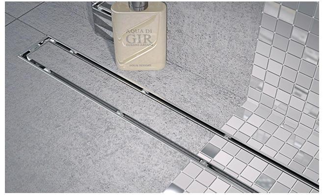 Linienablauf für bodengleiche Dusche