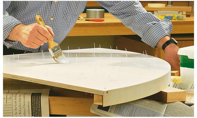 Deckenpaneel streichen