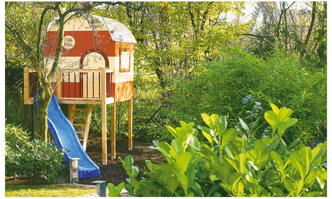Klettergerüst Selber Zusammenstellen : Spielplatz selber bauen die besten tipps und ideen