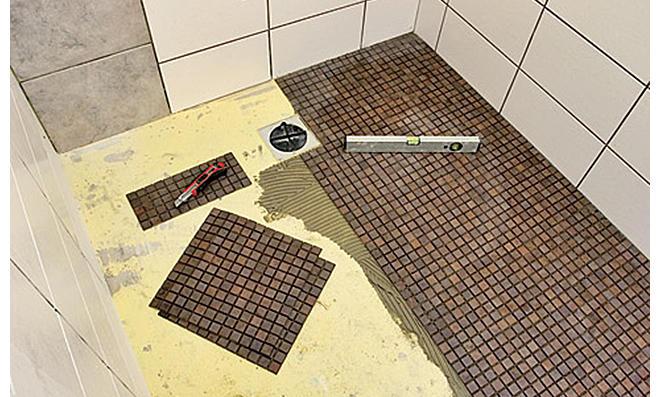 Bodengleiche Dusche Selber Bauen Selbstde - Bad selber fliesen anleitung