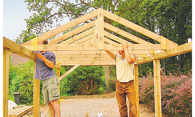 Fußboden Carport Selber Bauen ~ Carport selber bauen selbst