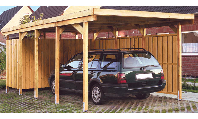 Carport test for Carport selber bauen bauplan