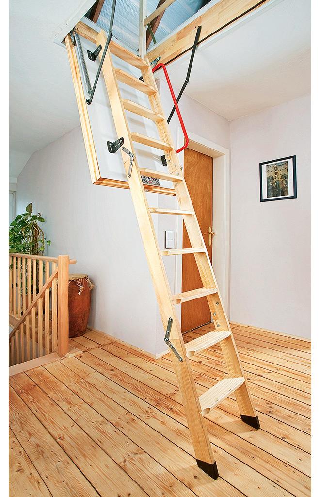 Как сделать лестницу на чердак из дома 709