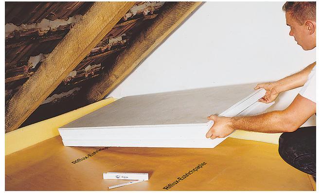 Dämmung Fußboden Dachgeschoss ~ Dachgeschoss dämmen selbst