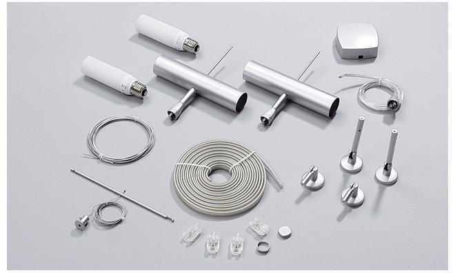 Bestandteile des Hochvolt-Seilsystems