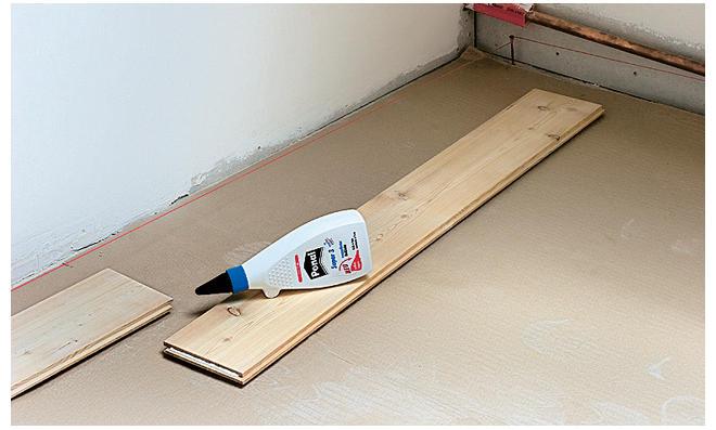 Holzfußboden Im Keller ~ Holzdielen verlegen selbst.de
