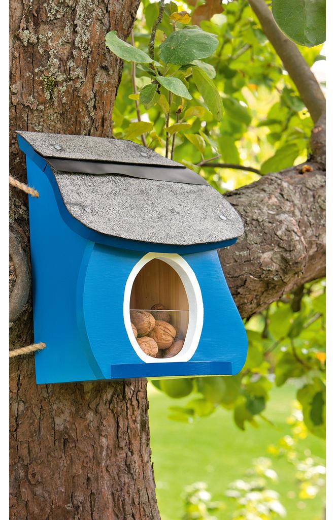 Futterhaus Eichhörnchen
