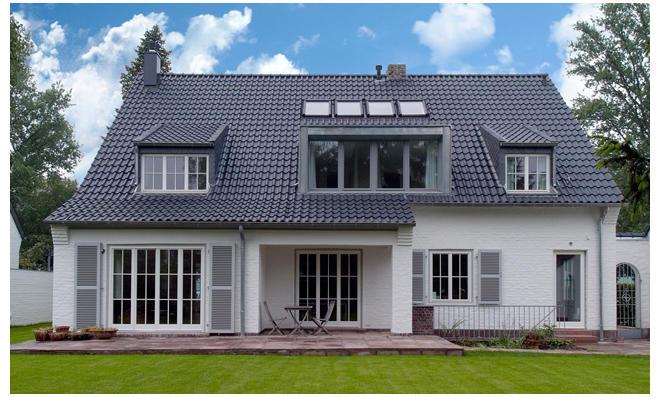Sprossenfenster mit Energieschutzverglasung