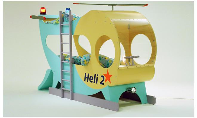 Kinderbett hubschrauber  Kinder-Etagenbett | selbst.de