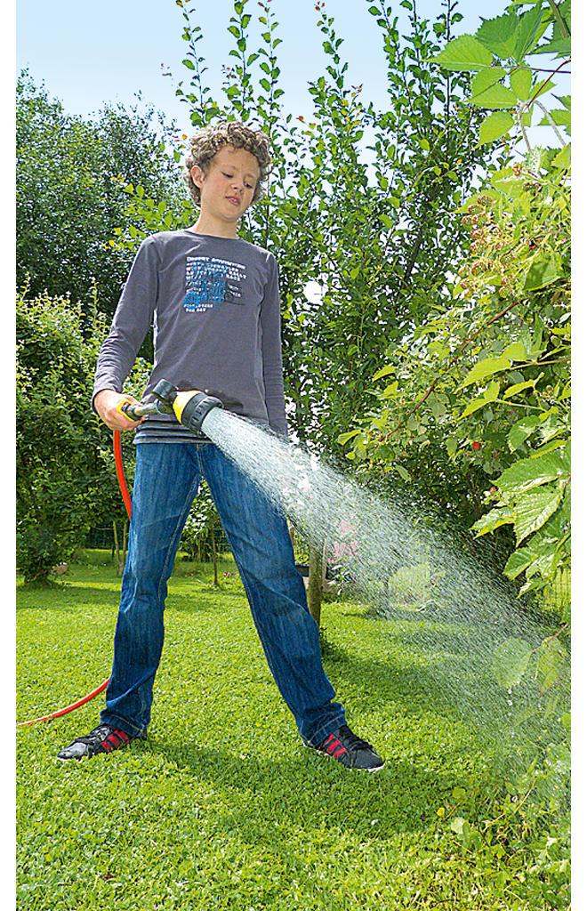 selbst ausprobiert: Gartendusche von Gardena
