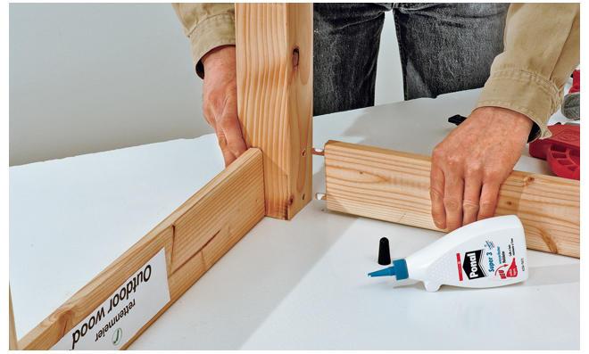 Sommerküche Aus Holz : Holz holz landschaft küche modernes luxushaus stockfoto bild
