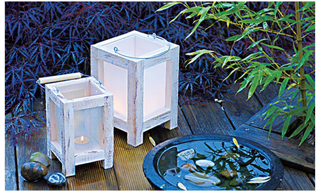 Garten-Laternen selbst bauen