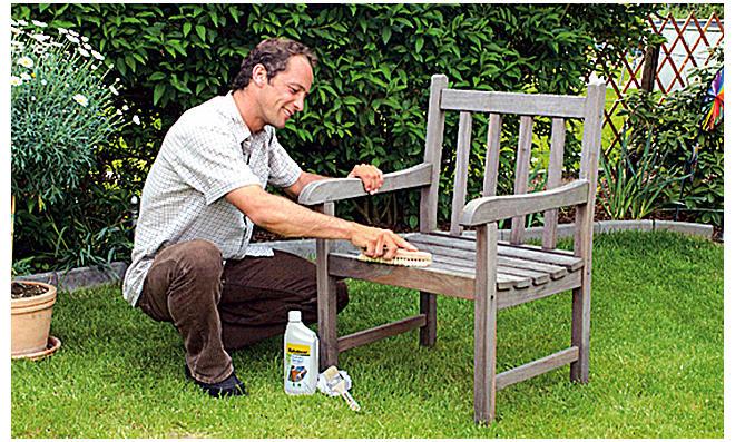 Gartenmöbel streichen | selbst.de