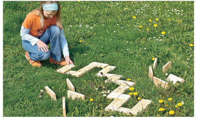 Outdoorküche Holz Xxl : Holz dominosteine selbst