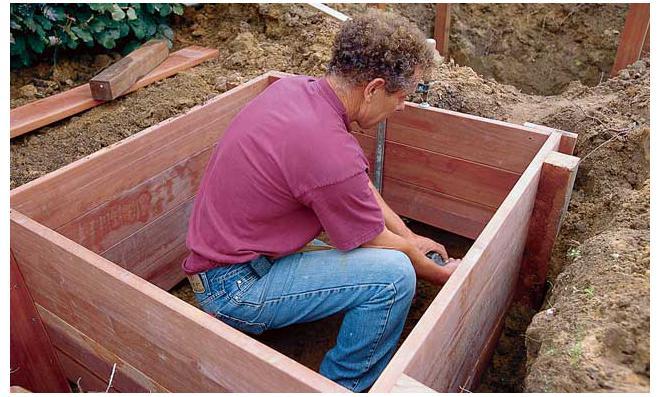 wasserbecken | selbst.de, Gartenarbeit ideen