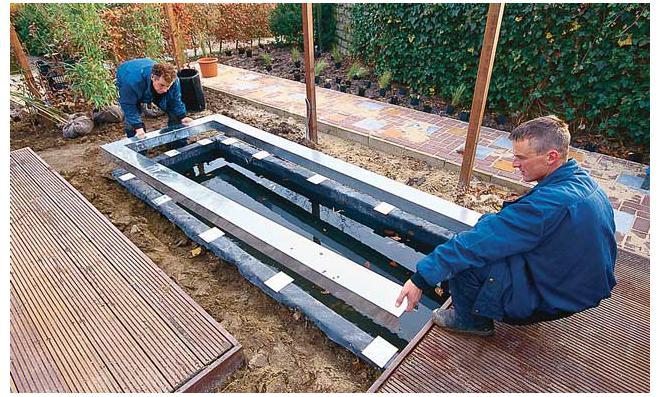 wasserbecken   selbst.de, Garten und bauen