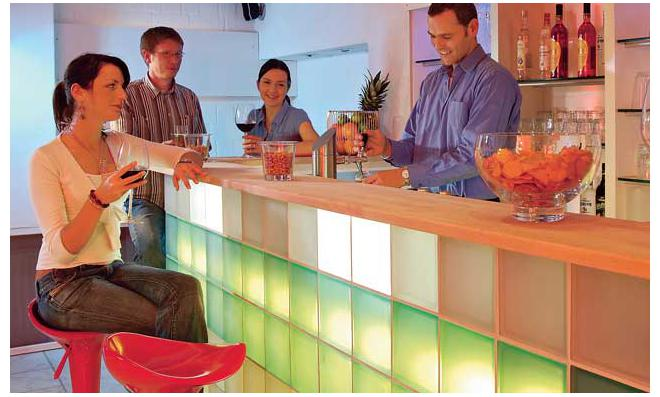 Glasbausteine mauern | selbst.de | {Glasbausteine duschwand 67}