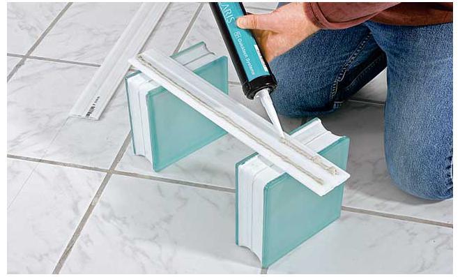 bett selber bauen glasbausteine. Black Bedroom Furniture Sets. Home Design Ideas