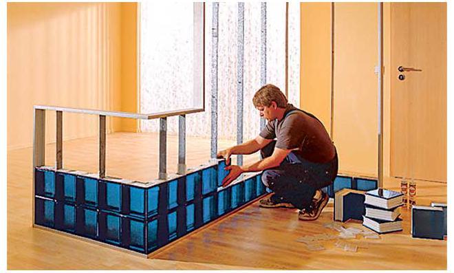 Bett selber bauen glasbausteine  Bett Selber Bauen Glasbausteine | rheumri.com