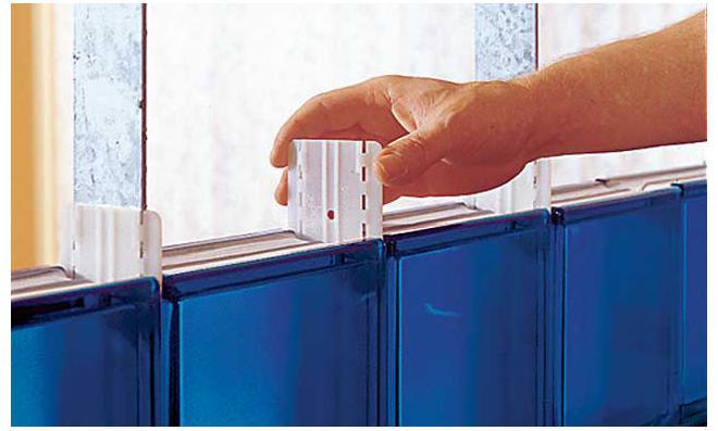 Bett selber bauen glasbausteine  Glasbausteine mauern   selbst.de