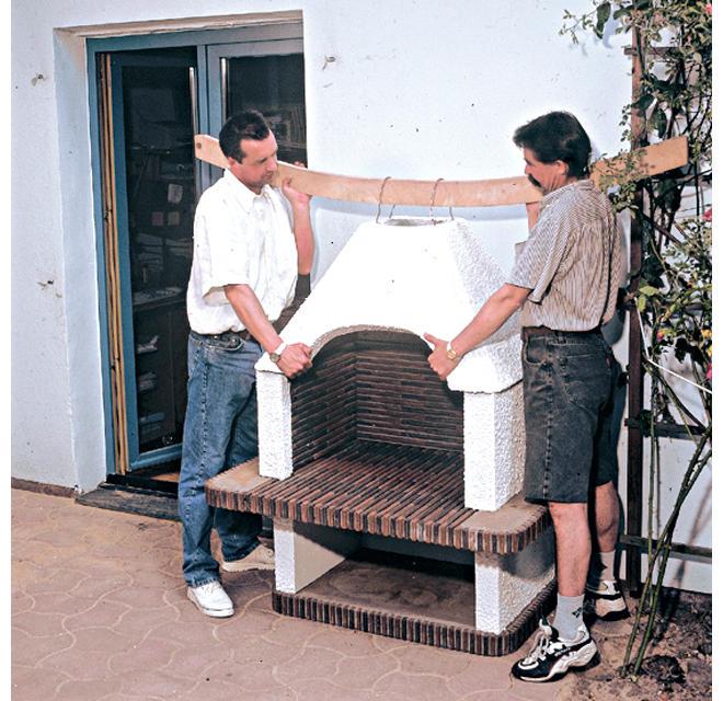 grillkamin bauen | selbst.de, Terrassen ideen