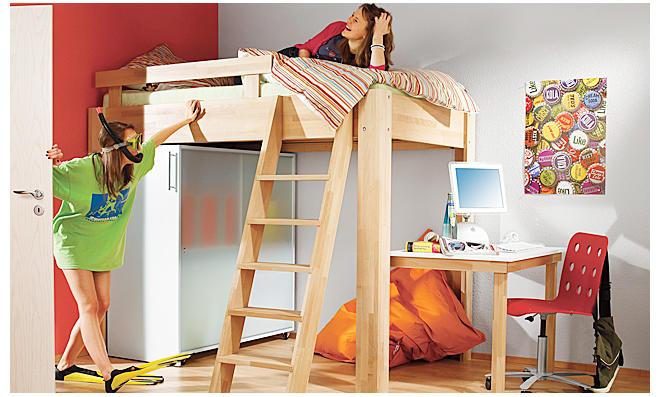 hochbett mit stufen treppe finest auf amazonde fr hochbett treppe with hochbett mit stufen. Black Bedroom Furniture Sets. Home Design Ideas