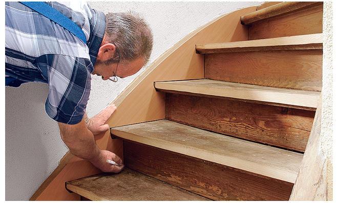 Holztreppe Verkleiden holztreppe renovieren selbst de