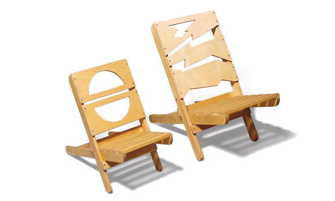 Klapphocker selber bauen  Strandstuhl | selbst.de
