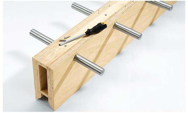 Steigleiter bauen