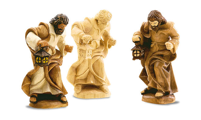Holzfiguren bemalen