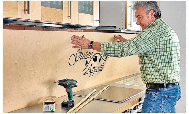 Küchenrückwand aus Holz | selbst.de