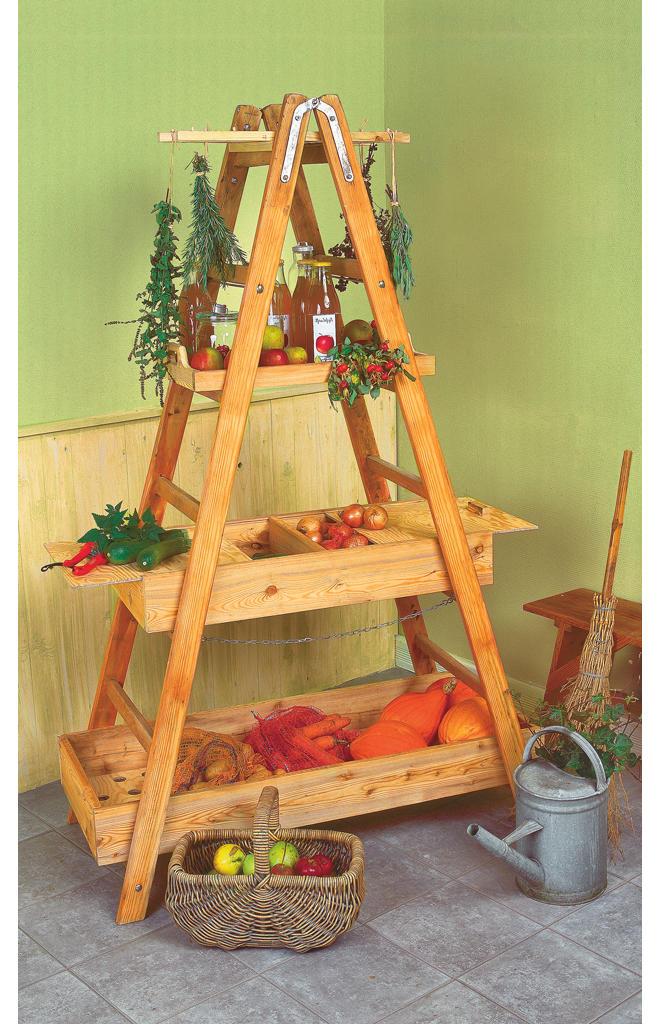 Lagerregal für Obst und Gemüse