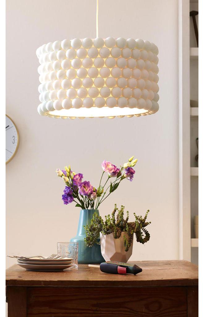 Lampe verzieren