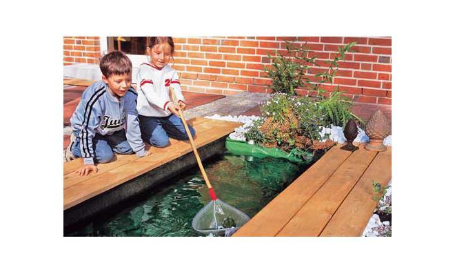 Mini-Teich bauen