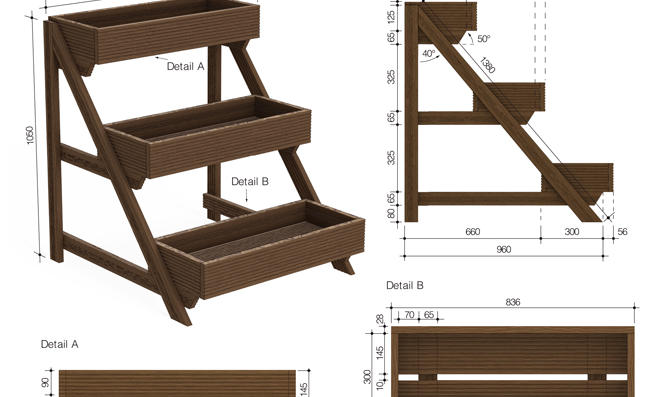 tolle pflanzk bel selber bauen zeitgen ssisch. Black Bedroom Furniture Sets. Home Design Ideas